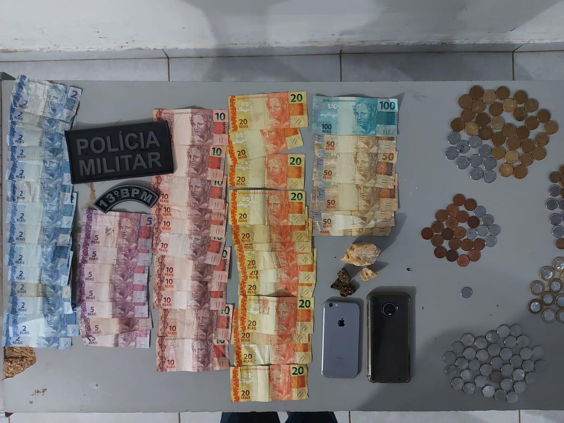 PM prende casal por tráfico de drogas ao cumprir mandado de busca e apreensão em Cassilândia
