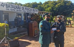 4º BPM de Ponta Porã recepciona novos Sargentos com café da manhã