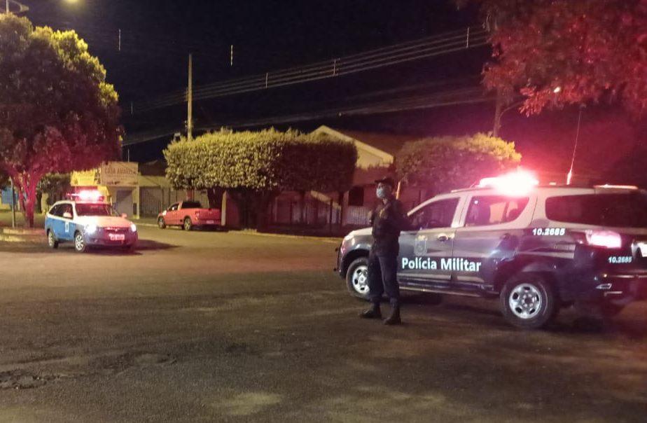 PM em Paranaíba conduz homem à delegacia por adulterar chassi de motocicleta