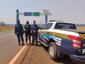 Forças de Segurança deflagram a Operação em Paranaíba e recuperam veículo furtado